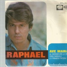 Discos de vinilo: RAPHAEL AVE MARIA. Lote 195490370
