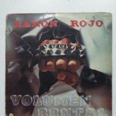 Discos de vinilo: BARON ROJO. VOLUMEN BRUTAL - LP. TDKLP. Lote 195490397