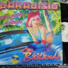 Discos de vinilo: PARADISIO MAXI BAILANDO IBIZA REMIX BY 2 FABIOLA 1997. Lote 195490472