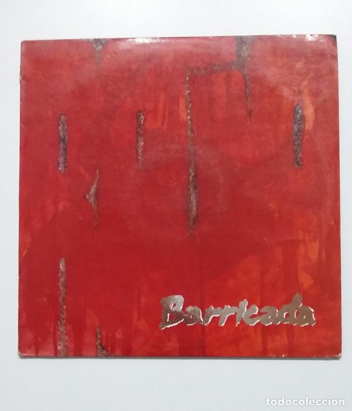 BARRICADA. - ROJO - LP. TDKLP (Música - Discos - LP Vinilo - Grupos Españoles de los 70 y 80)