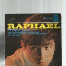 Discos de vinilo: RAPHAEL UN LARGO CAMINO. Lote 195490708