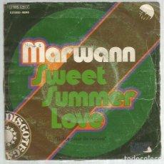 Discos de vinilo: MARWANN SWEET SUMMER. Lote 195491273