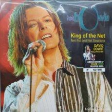 Discos de vinilo: DAVID BOWIE - KING OF THE NET -2 LP-. Lote 195491306