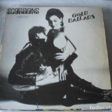 Discos de vinilo: SCORPIONS GOLD BALLADS. Lote 195491446