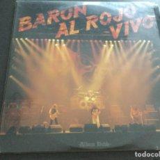 Discos de vinilo: BARÓN ROJO - AL ROJO VIVO . Lote 195492280