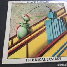Discos de vinilo: BLACK SABBATH - TECHNICAL ECSTASY . Lote 195492486
