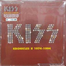 Discos de vinilo: KISS - KRONICLES II 1974-1994 -11 LP BOX-. Lote 195492891