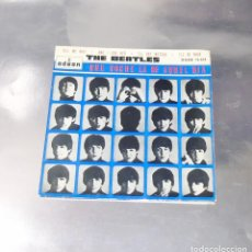 Discos de vinilo: THE BEATLES---TELL ME WHY ORIGINAL 1964 1ª EDICION ESPAÑA --DSOE 16.618 ---LABEL AZUL FUERTE. Lote 195492955