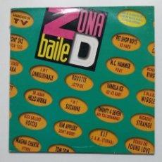 Discos de vinilo: ZONA DE BAILE (ZONA D BAILE). - DOBLE LP. VARIOS ARTISTAS. TDKLP. Lote 195494072
