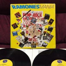 Discos de vinilo: RAMONES - RAMONES MANIA, LP DOBLE, RECOPILATORIO, 1988, EUROPA. Lote 195494172