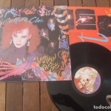 Discos de vinilo: CULTURE CLUB LP. WALKING UP WITH THE HOUSE ON FIRE MADE IN SPAIN. 1984. Lote 195494483