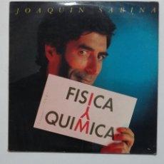 Discos de vinilo: JOAQUIN SABINA. FISICA Y QUIMICA. LP. TDKLP. Lote 195494703