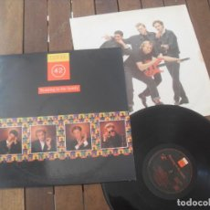 Discos de vinilo: LEVEL 42 LP. RUNNING IN THE FAMILY MADE IN SPAIN. 1987. Lote 195494728