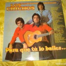 Discos de vinilo: LOS CHICHOS. PARA QUE TU LO BAILES. 47 EXITOS. PHILIPS, 1981 IMPECABLE (#). Lote 195495232