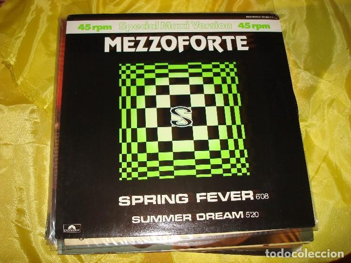 MEZZOFORTE. SPRING FEVER. POLYDOR, 1984. EDC. UK. MAXI.SINGLE . IMPECABLE (#) (Música - Discos de Vinilo - Maxi Singles - Pop - Rock Internacional de los 70)