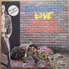 Discos de vinilo: LOU REED - LIVE TAKE NO PRISIONERS - ORIGINAL UK. Lote 195496461