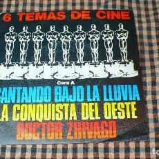 Discos de vinilo: LAS ESTRELLAS, 6 TEMAS DE CINE, POLYDOR – 28 80 109, 1980, TEMAS EN DESCRIPCIÓN. . Lote 195496555