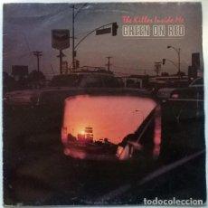 Discos de vinilo: GREEN ON RED. THE KILLER INSIDE ME. MERCURY. SPAIN 1987 LP. Lote 195498180