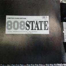 Discos de vinilo: 808 STATE MAXI PACIFIC-909 / COBRA BORA 1989. Lote 195498917