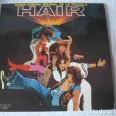 Discos de vinilo: GALT MACDERMOT HAIR (BANDA SONORA ORIGINAL DE LA PELICULA). Lote 195498947