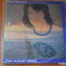 Disques de vinyle: LP JOAN MANUEL SERRAT. MEDITERRÁNEO. 1971.. Lote 195501816