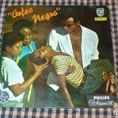 Discos de vinilo: ANTONIO CARLOS JOBIM & LUIZ BONFÁ – ORFEO NEGRO, PHILIPS – 432 387 BE, TEMAS EN DESCRIPCIÓN.. Lote 195502051