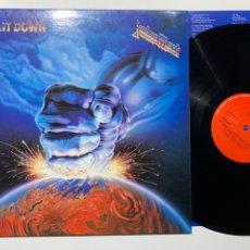Discos de vinilo: LP JUDAS PRIEST RAM IT DOWN EDICIÓN ESPAÑOLA DE 1988. Lote 195502945