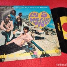 Discos de vinilo: LOS 5 MUSICALES A DONDE VAS COMPAÑERO/DIZZY 7'' SINGLE 1969 PALOBAL. Lote 195504735