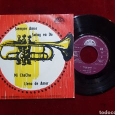 Discos de vinilo: GRUPO ESTUDIO BARTO BARCO BATO EP 1968 PROMO SIEMPRE AMOR MI CHACHA SWING EN DO LLENO DE AMOR. Lote 195504791