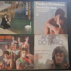 Discos de vinilo: LOTE VARIADO DE SINGLES.. Lote 195506560