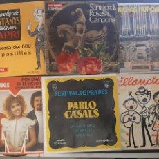 Discos de vinilo: LOTE DE 6 SINGLES VARIADOS.. Lote 195507256
