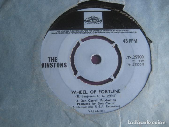 THE WINSTONS SG PYE 1969 LOVE OF THE COMMON PEOPLE / WHEEL OF FORTUNE FUNK SOUL EDICION INGLESA (Música - Discos - Singles Vinilo - Funk, Soul y Black Music)
