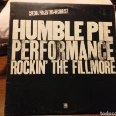 Discos de vinilo: HUMBLE PIE PERFORMANCE ROCKIN' THE FILLMORE DOBLE LP EDICION INGLESA. Lote 195507493