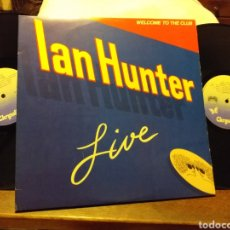 Discos de vinilo: IAN HUNTER WELCOME TO THE CLUB DOBLE ESPAÑA 1980. Lote 195508965