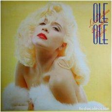 Discos de vinilo: OLÉ OLÉ, LOS CABALLEROS LAS PREFIEREN RUBIAS, LP SPAIN 1987. Lote 195509265