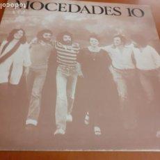Discos de vinilo: DISCO LP MOCEDADES 10. Lote 195509523
