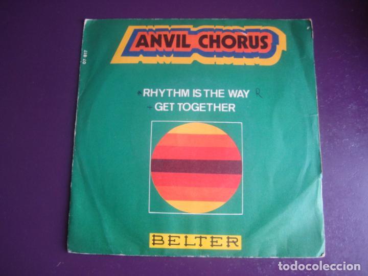 ANVIL CHORUS SG BELTER 1970 RHYTHM IS THE WAY / GET TOGETHER - FUNK SOUL 70'S - POCO USO VINILO (Música - Discos - Singles Vinilo - Funk, Soul y Black Music)