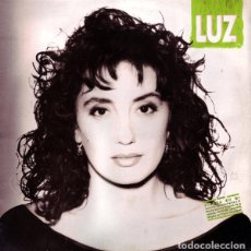 Discos de vinilo: LUZ CASAL , A CONTRALUZ, LP HISPAVOX 1991 + LETRAS. Lote 195510237