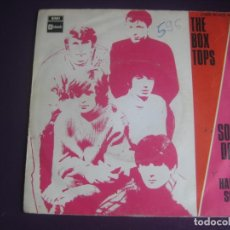 Discos de vinilo: THE BOX TOPS SG EMI STATESIDE 1969 - SOUL DEEP +1 ALEX CHILTON - BLUE EYED SOUL 60'S . Lote 195510258