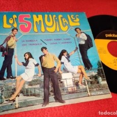 Discos de vinilo: LOS CINCO MUSICALES LA BAMBOLA/UNO TRANQUILO/YUMMY,YUMMY,YUMMY/LLUVIA Y LAGRIMAS 7'' EP 1968 PALOBAL. Lote 195510280