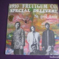 Discos de vinilo: 1910 FRUITGUM CO. SG BUDDAH 1969 - SPECIAL DELIVERY +1 SONIDO CHICLE - GLAM POP 70'S - POCO USO. Lote 195510878