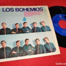 Discos de vinilo: LOS BOHEMIOS NINGUNO ME PUEDE JUZGAR/NO QUIERO SER YE-YE/NA CATALINA DE PLASS/+1 7''EP 1966 HISPAVOX. Lote 195511005