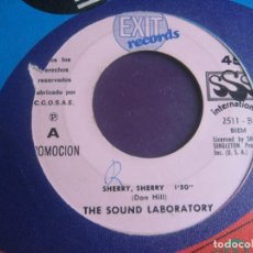 Discos de vinilo: THE SOUND LABORATORY SG EXIT 1969 - SHERRY, SHERRY / TWENTY-FIRST CENTURY GIRL - PSICODELIA POP 60'S. Lote 195511176