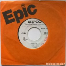 Discos de vinilo: PETE HANLEY. TENNESSEE TODDY/ I LOOK AT YOU. EPIC, USA 1956 SINGLE PROMO. Lote 195514833