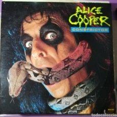 Discos de vinilo: DISCO VINILO ALICE COOPER-CONSTRICTOR.. Lote 195515307