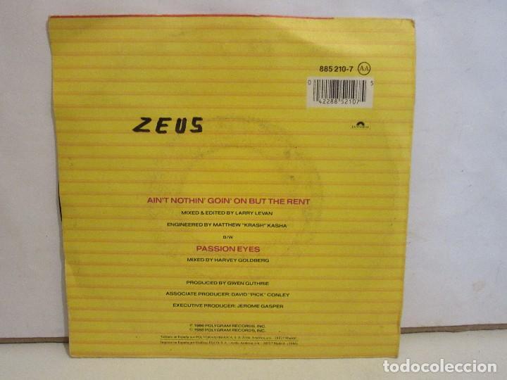 Discos de vinilo: Gwen Guthrie - Aint Nothin Goin On But The Rent - Single - 1986 - Spain - VG+/VG - Foto 2 - 195515342