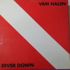 Discos de vinilo: DISCO VINILO VAN HALEN-DIVER DOWN.. Lote 195515377
