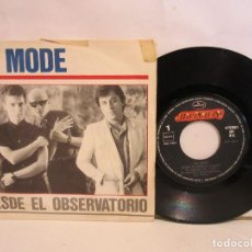 Discos de vinilo: LA MODE - DESDE EL OBSERVATORIO / SWAN - SINGLE - 1986 - SPAIN - VG/VG. Lote 195515725