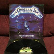 Discos de vinilo: METALLICA - RIDE THE LIGHTNING LP, 1989, ESPAÑA, OPORTUNIDAD!!. Lote 195516843