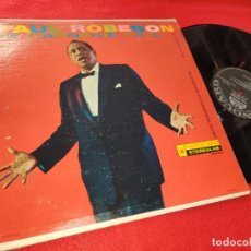 Discos de vinilo: PAUL ROBESON AT CARNEGIE HALL LP 1960 VANGUARD USA. Lote 195520933